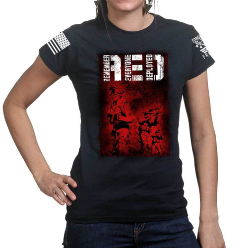 R.E.D. Soldiers Ladies T-shirt