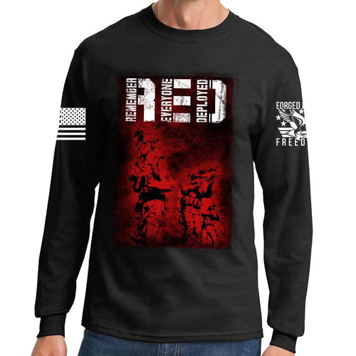 R.E.D. Soldiers Long Sleeve T-shirt