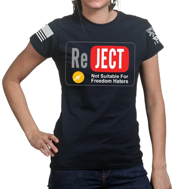 YouTube Reject Ladies T-shirt