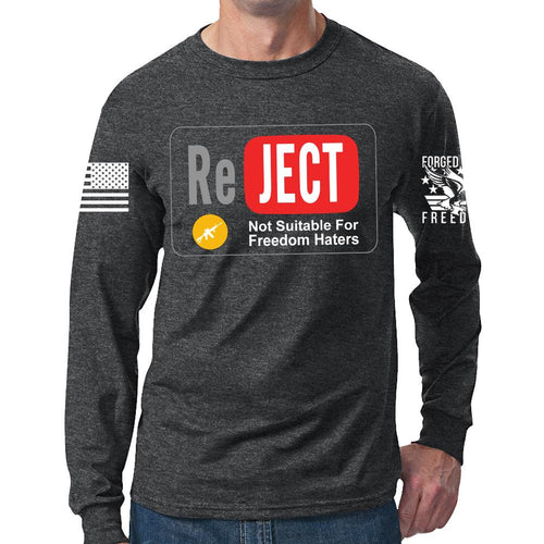 YouTube Reject Long Sleeve T-shirt
