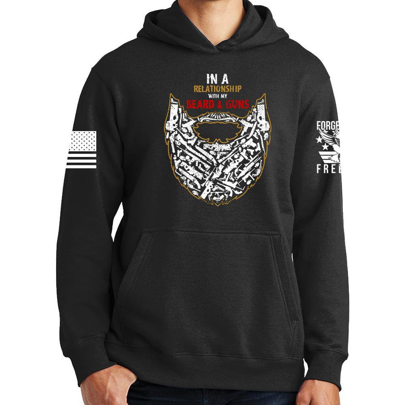 Guns and Beard Hoodie