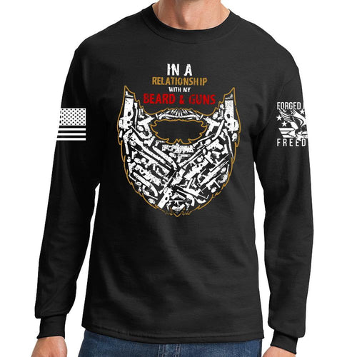 Guns and Beard Long Sleeve T-shirt