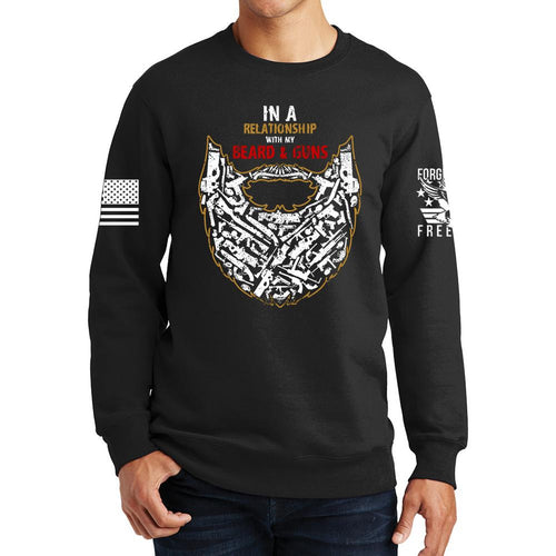 Guns and Beard Sweatshirt