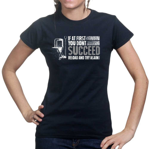 Reloading Again Ladies T-shirt