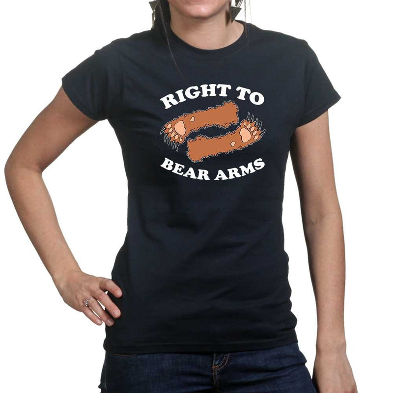 Ladies Right To Arms Bear T-shirt