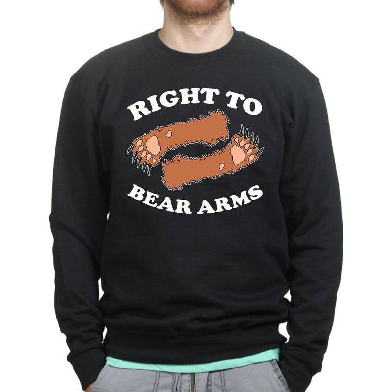 Unisex Right To Arms Bear Sweatshirt