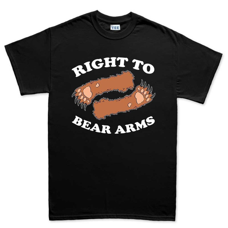 Men's Right To Arms Bear T-shirt