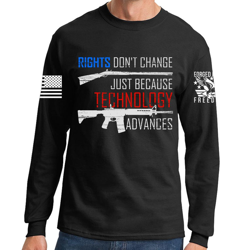 Right's Don't Change Long Sleeve T-shirt