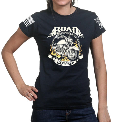 Ladies Road Explorer T-shirt