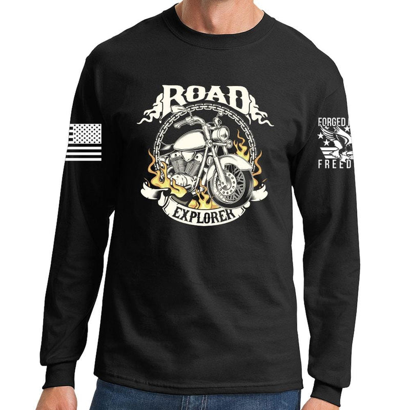 Road Explorer Long Sleeve T-shirt