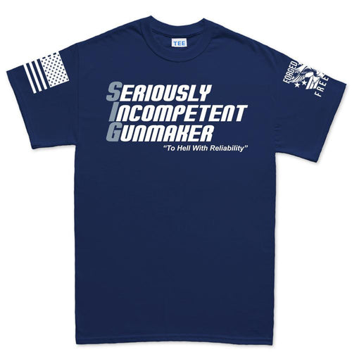 Seriously Incompetent Gunmaker T-shirt