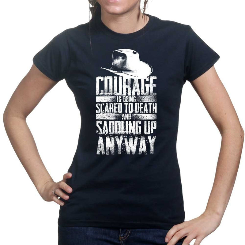 Ladies Saddling Up Anyway T-shirt