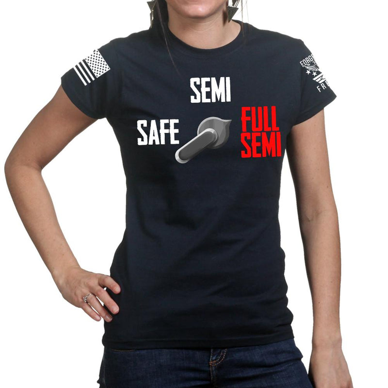 Full Semi Auto Ladies T-shirt