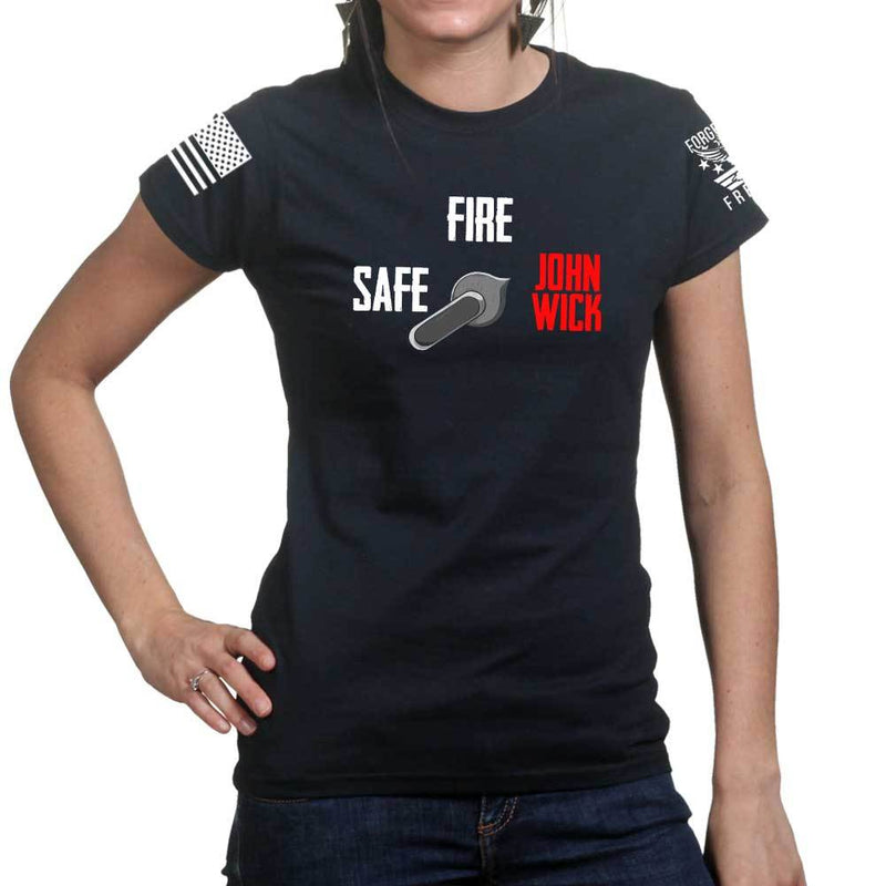 Safe Semi John Wick Ladies T-shirt