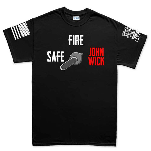 Safe Semi John Wick Men's T-shirt