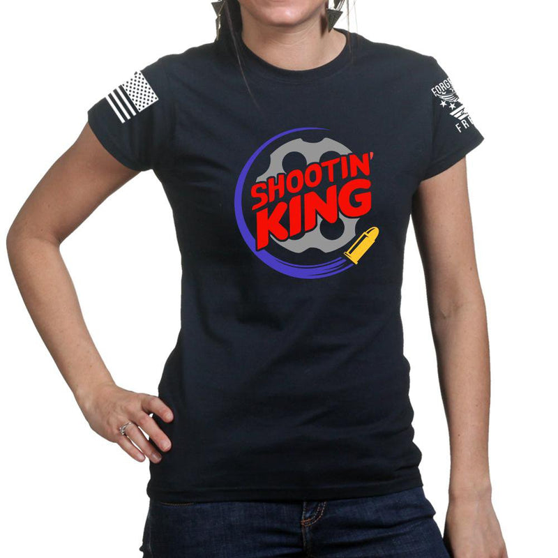 Shootin King Ladies T-shirt