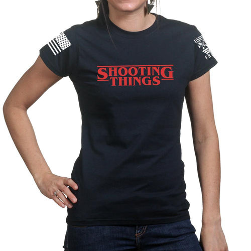 Shooting Things Ladies T-shirt