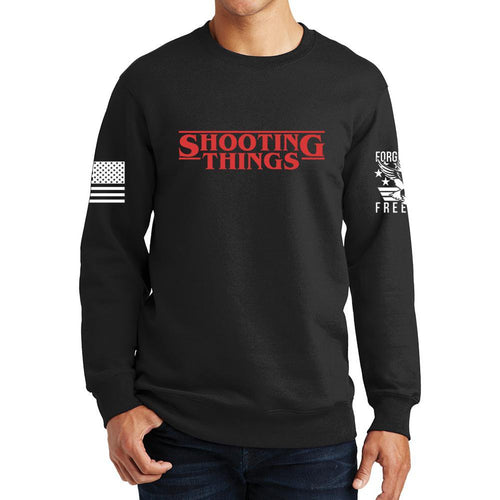 Shooting Things Sweatshirt