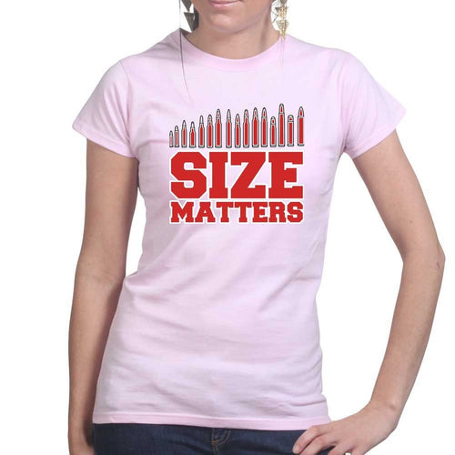 Size Matters (Ammo) Ladies T-shirt