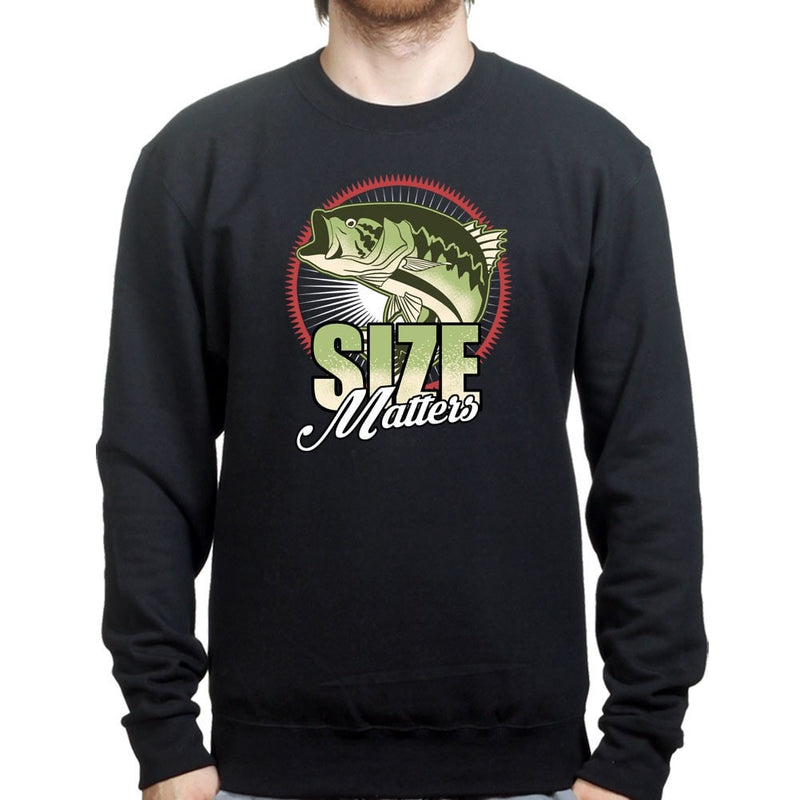 Size Matters (Fishing) Sweatshirt