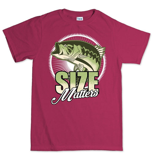 Size Matters (Fishing) Men's T-shirt