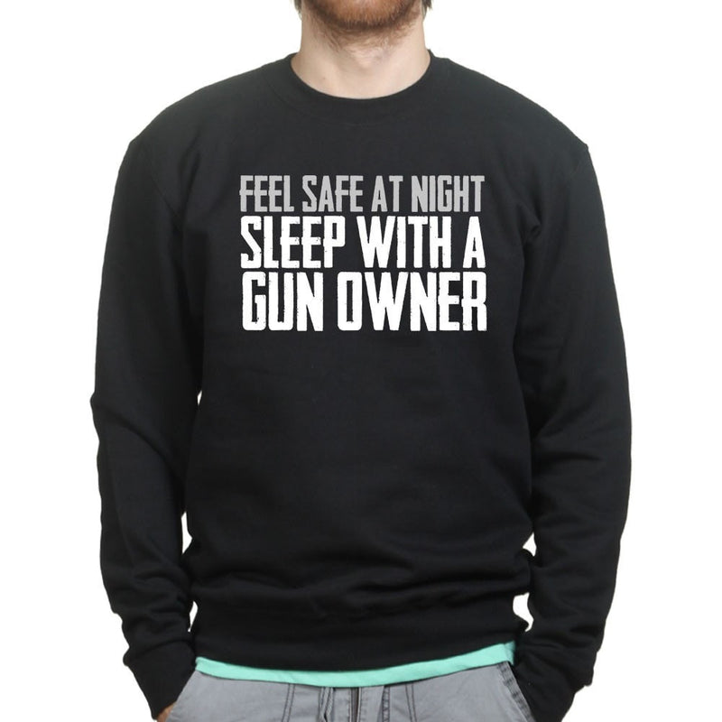 Unisex Sleep With A Gun Owner Sweatshirt