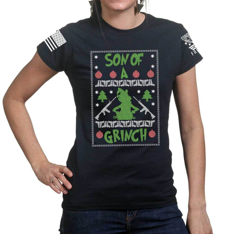 Son of a Grinch Ladies T-shirt