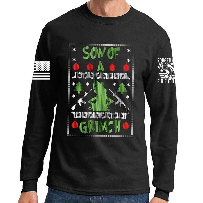 Son of a Grinch Long Sleeve T-shirt