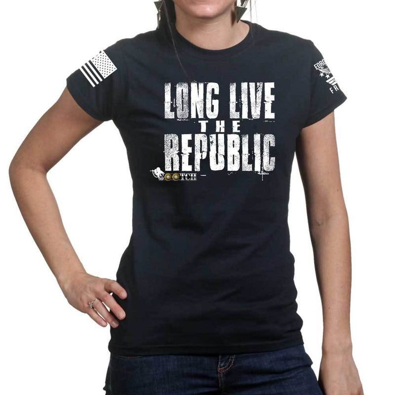 Sootch00 Long Live The Republic Ladies T-shirt