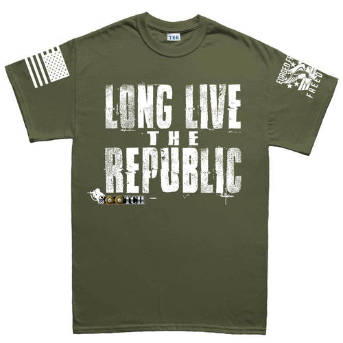Sootch00 Long Live The Republic Men's T-shirt
