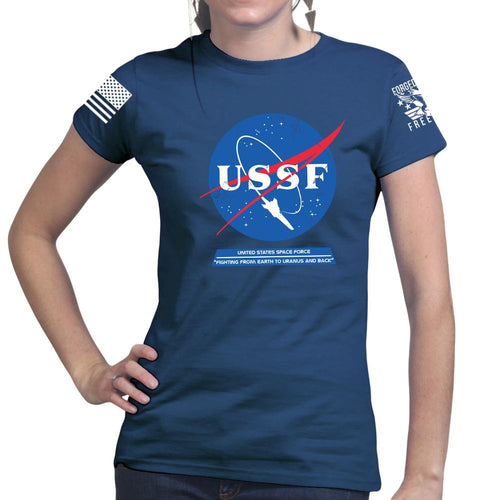 United States Space Force USSF Ladies T-shirt