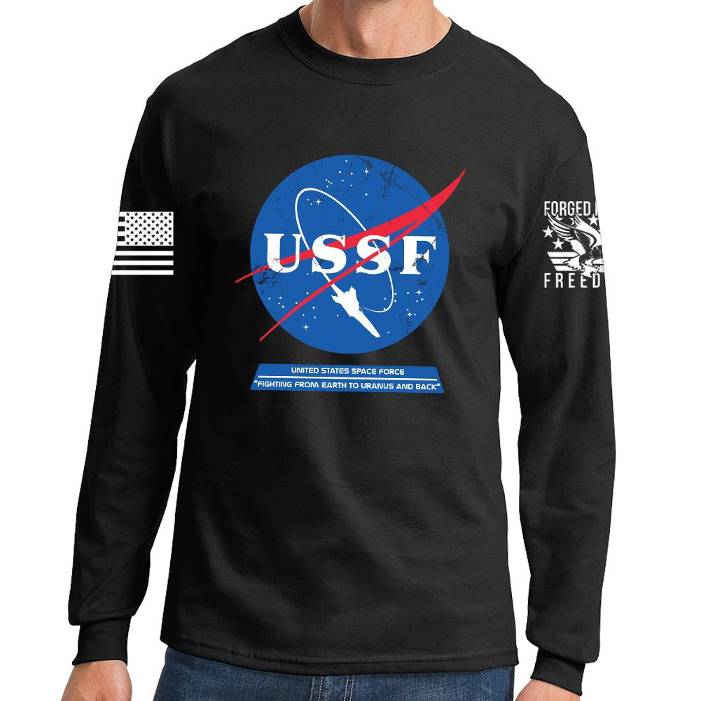 United States Space Force USSF Long Sleeve T-shirt – Forged From ...