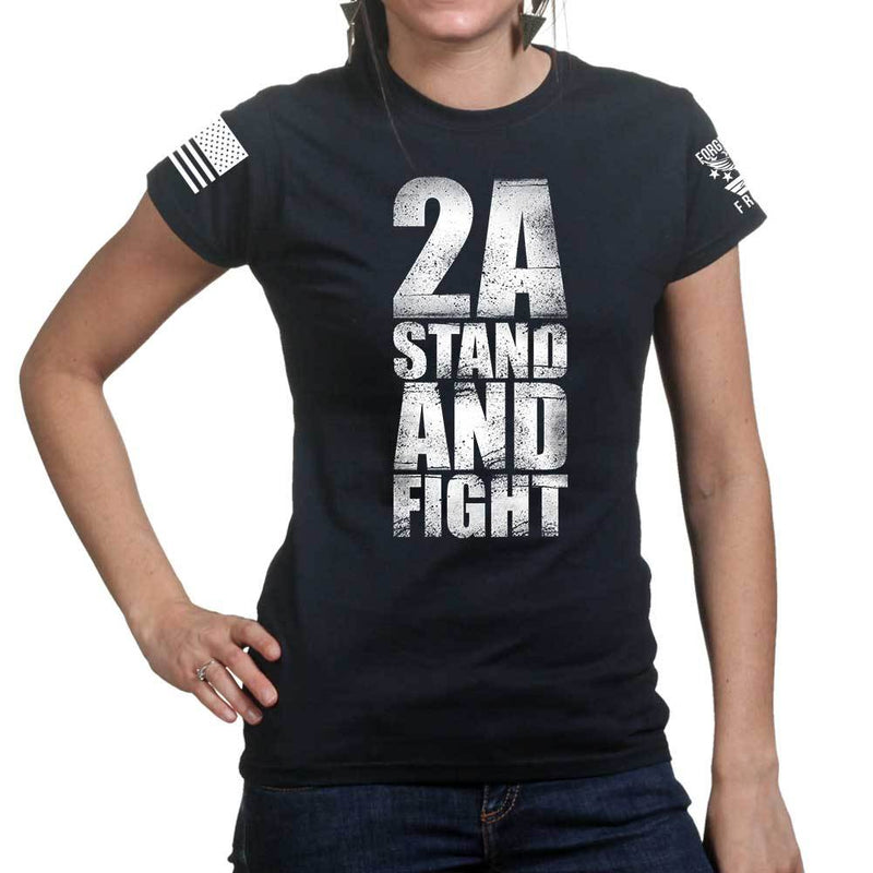 Stand and Fight Ladies T-shirt