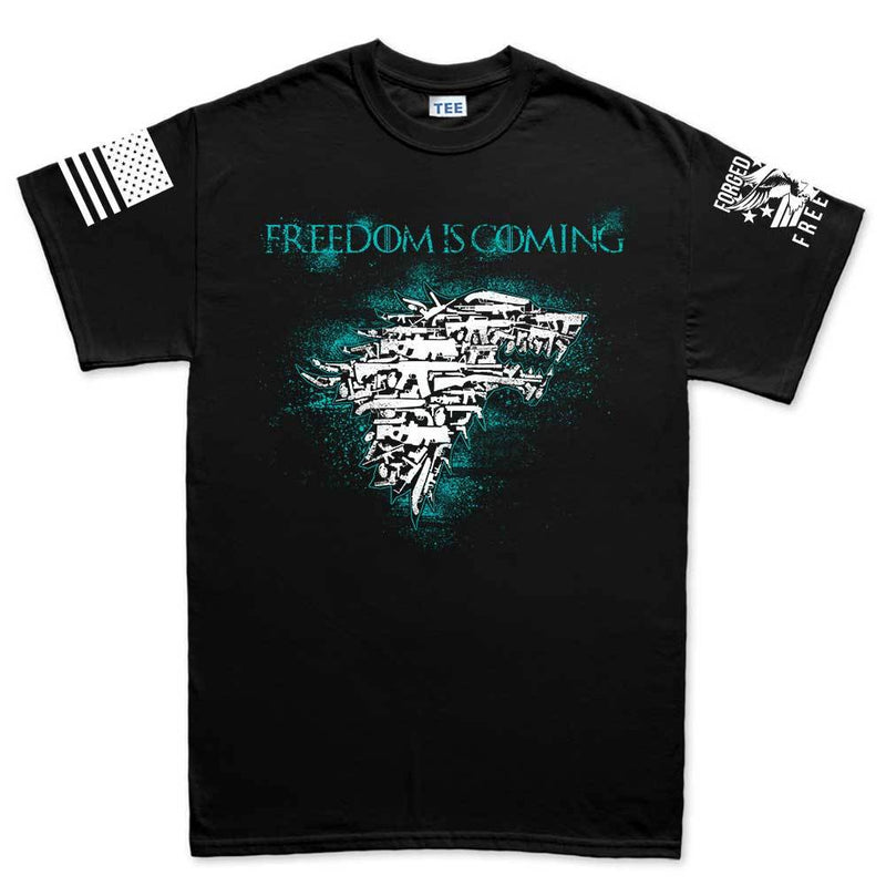 Freedom Is Coming Men's T-shirt