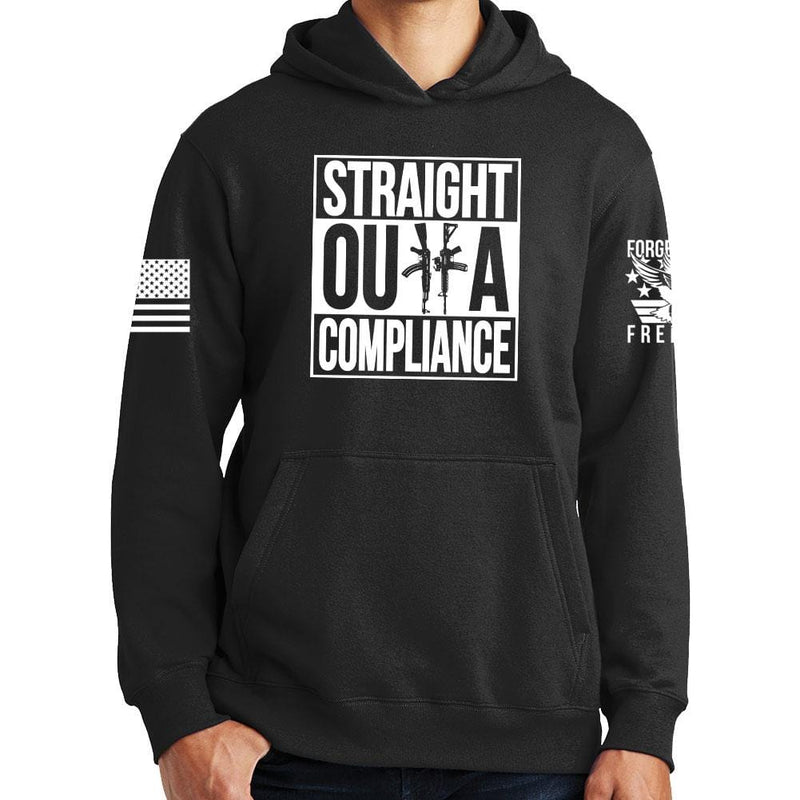 Straight Outta Compliance Hoodie