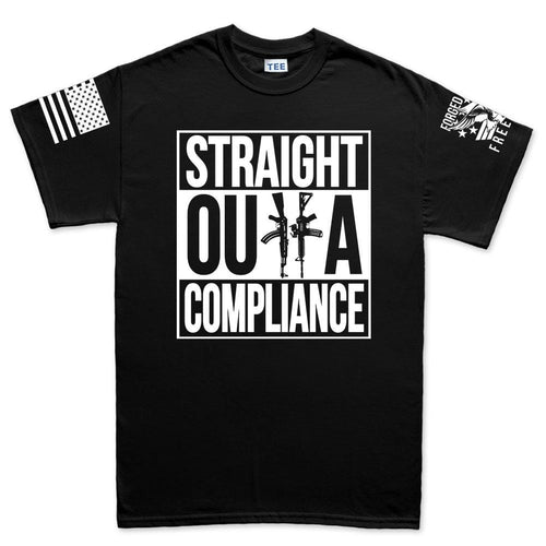 Mens Straight Outta Compliance T-shirt