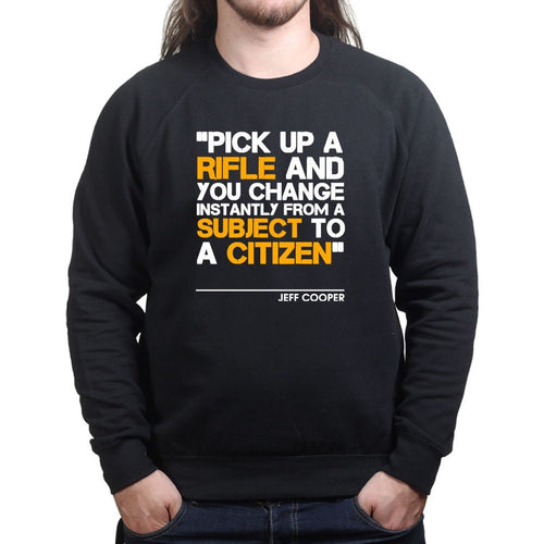 Subject to Citizen Mens Sweatshirt