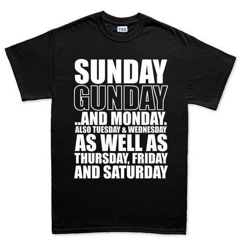 Men's Sunday Gunday Everyday T-shirt