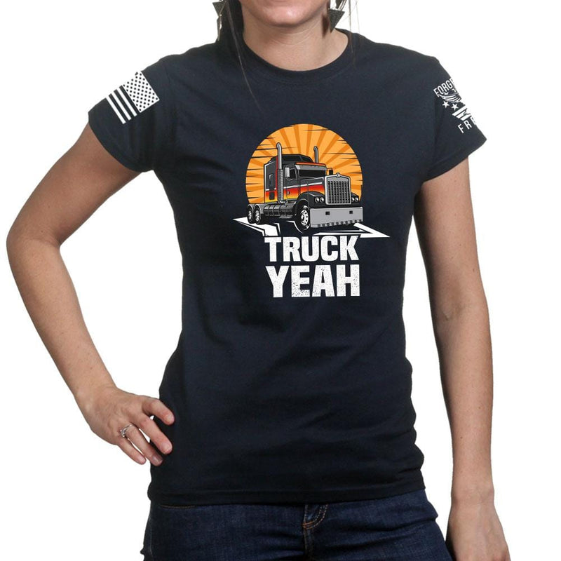 Ladies Truck Yeah T-shirt