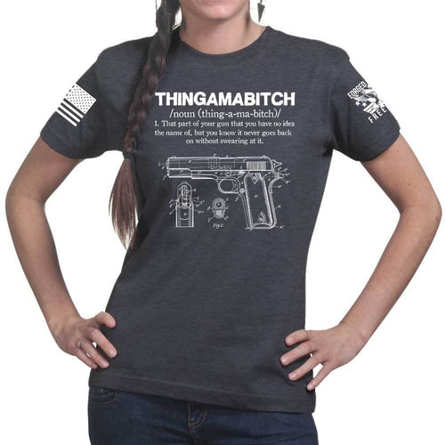 Thingamabitch Ladies T-shirt