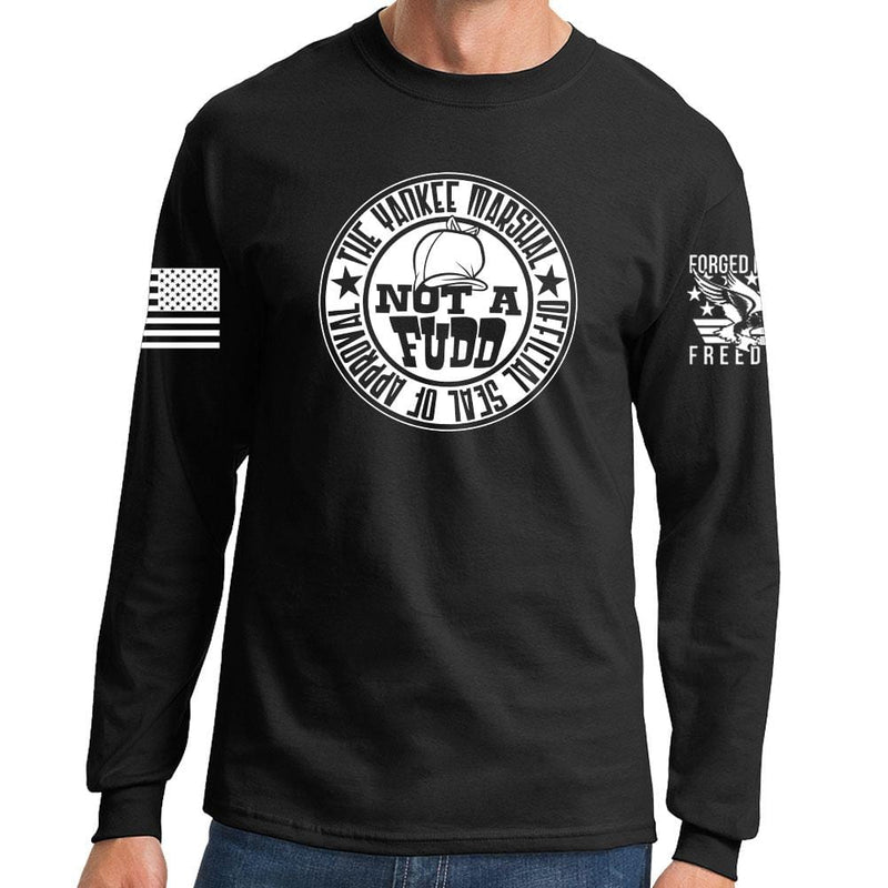 Yankee Marshal Fudd Seal of Approval Long Sleeve T-shirt