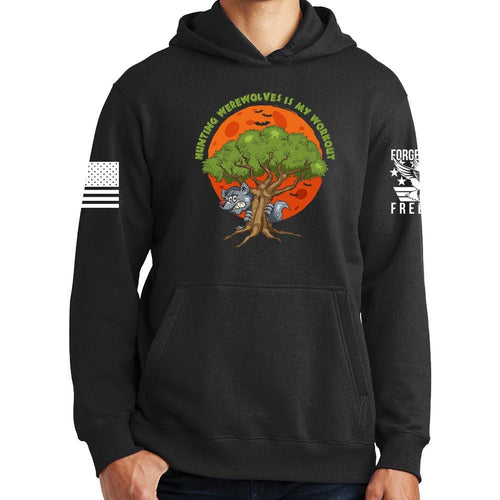 Hunting Werewolves Is My Workout Hoodie