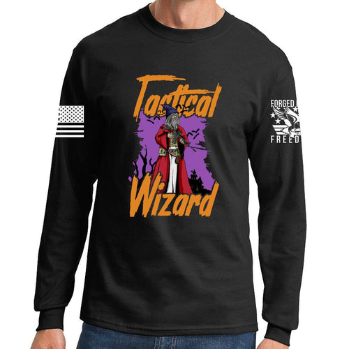 Tactical Wizard Halloween Long Sleeve T-shirt