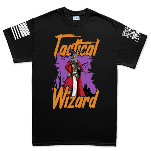 Tactical Wizard Halloween Men's T-shirt