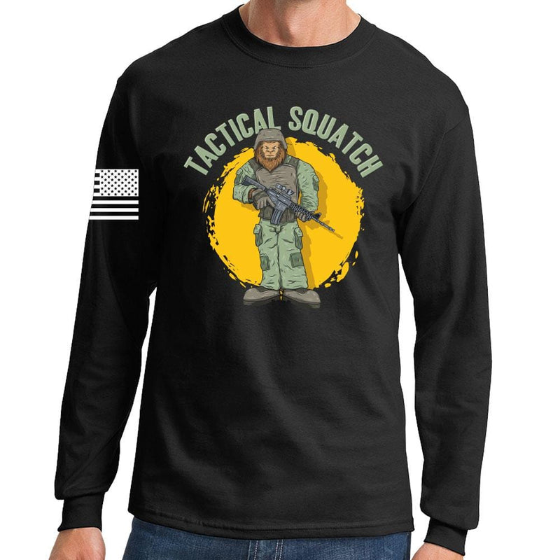 Tactical Squatch Long Sleeve T-shirt
