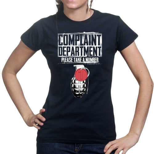 Ladies Complaints Department T-shirt