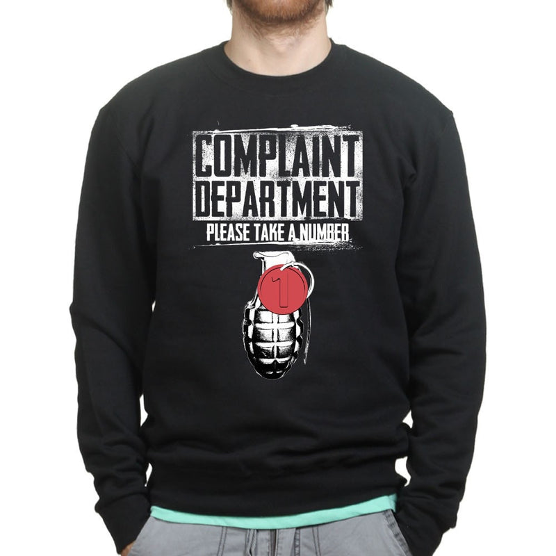 Unisex Complaints Department Sweatshirt