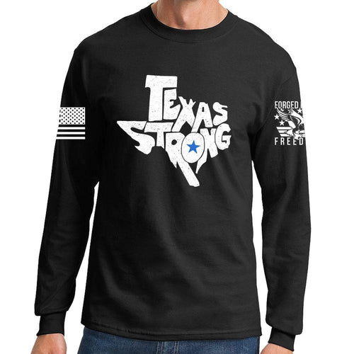 Long Texas Strong V1 Sleeve T-shirt