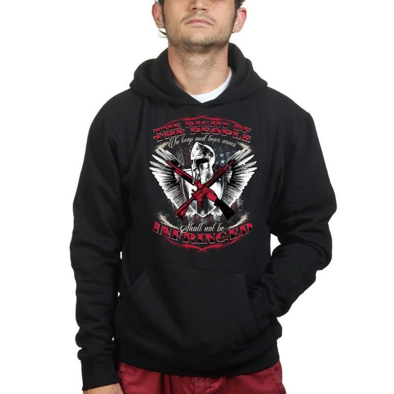 Spartan Shall Not Be Infringed Hoodie