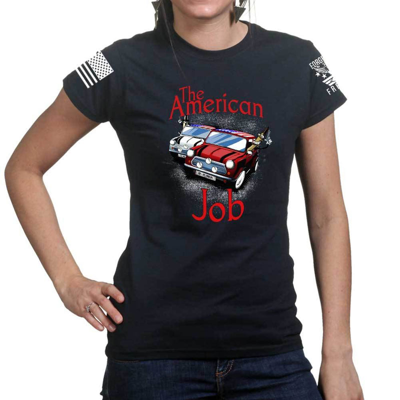 Ladies The American Job T-shirt